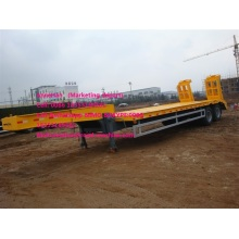 Warna kuning 2 as 50T lowbed trailer
