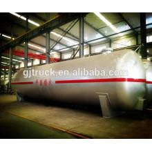 Remolque del tanque de 50cbm Lpg / remolque del tanque, remolque del tanque líquido, semirremolque del tanque del transporte del gas propano / del gas propano / petrolero del almacenamiento del LPG
