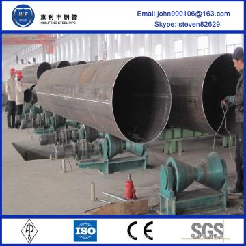 Heiß-Verkauf hochwertigen niedrigen Preis großen Durchmesser geschweißt lsaw Stahlrohr