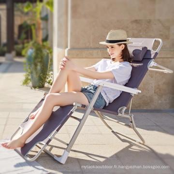 Chaise pliante extérieure pliante chaise de camping chaise pliante chaise