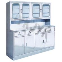 Stainless Steel Medical Apparatus Storage Cupboard Jyk-D15