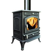 Wood Heater, Wood Burning Stove (FIPA073) , Chimney