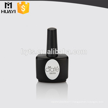 empty black glass large bottle nail polish bottle