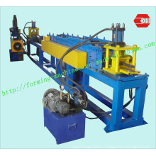 Full Auto Adjustment C Purlin Forming Machine with Pre-Punching and Post-Cutting