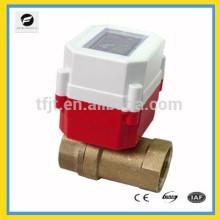 2 voies IC chaud port complet 3.6V li batterie moteur robinet à tournant sphérique pour chauffe-eau