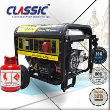 ¡Generador de energía CLÁSICO CHINA 6KW Polonia, venta caliente! Portable Power 7kva Generator, Generador de Gas Natural Portable