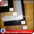 Black teflon /PTFE coated fiberglass fabric