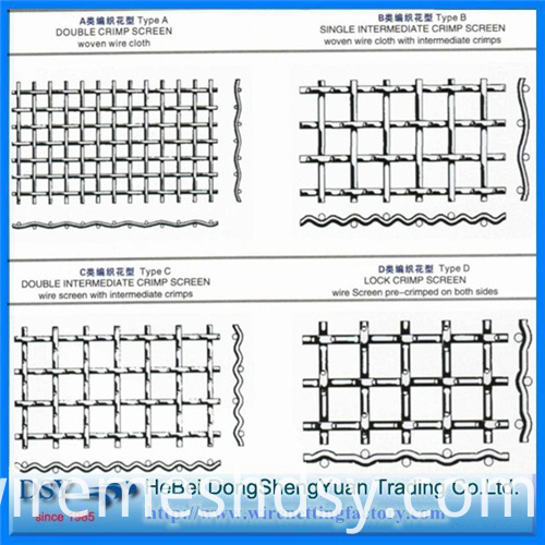 Best Selling Crimped Wire Mesh