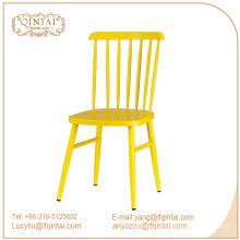 Vente chaude meubles de salle à manger réplique candy couleur windsor dinant la chaise