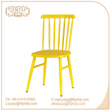 Hot sale dining room furniture replica candy color windsor dining chair