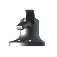 Deers cast steel marine mooring horn bollard for dock