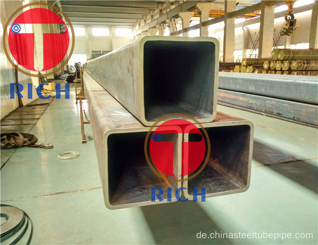 ERW / Seamless Carbon Steel Square / Rechteckiges Stahlrohr