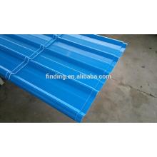 papelão ondulado folha/corrugado aço painel de aço colorido