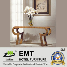 Wonderful Unique Design Wooden Hotel Furniture Public-Area Flower-Stand Table (EMT-CA30)