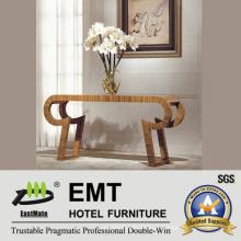 Maravilhoso Design exclusivo Mobília do hotel de madeira Mesa do carrinho de flores da área pública (EMT-CA30)