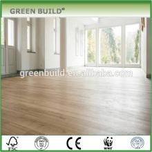 Revêtement de sol en bois de chêne naturel traité à l'huile UV