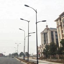 Good design factory price Q235 steel 3m-30m galvanized street light pole with quality assurance