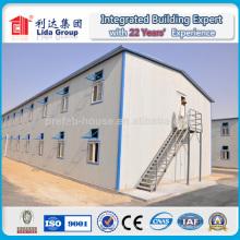 Grand bâtiment avec la fabrication structurelle en acier