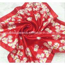 Fashion Print Satin Wholesale Square Scarves