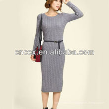 13STC5634 pull robe pull pull dame en tricot robe