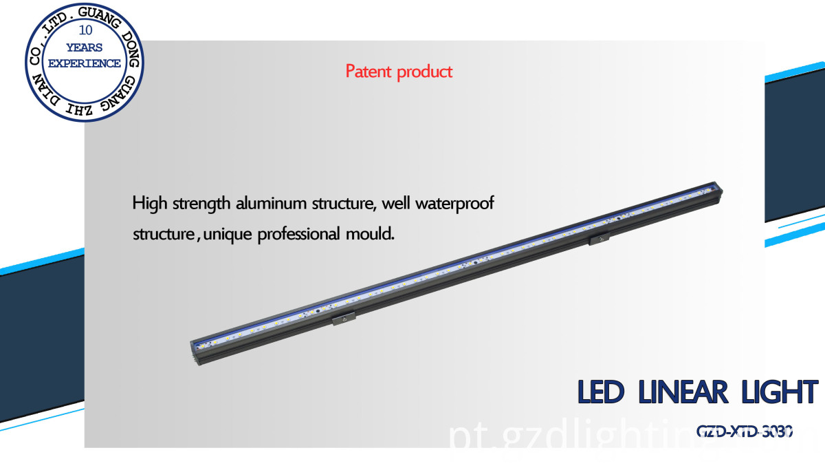 facade lighting led rigid light