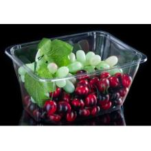 Transparent Plastic Salad Tub For Vegetables Without Cover