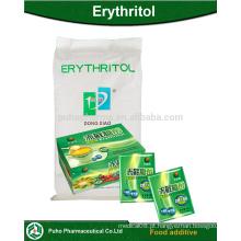 Fabricação de edulcorante de açúcar livre, baixo teor de calorias e produtos dietéticos em pó de eritritol
