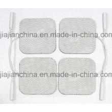 Pad d'électrodéposition auto-adhésif (50 * 50mm) pour l'utilisation des dizaines