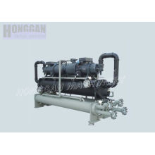 Double Compressor Water Cooling Accurate Screw Water Chiller For Temperature Control