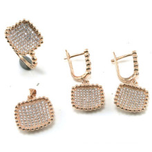 Newest Design Fashion Jewelry 925 Silver Sets (S3314)