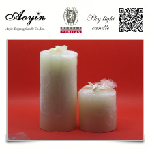 Scented lasting long time burning pillar candle
