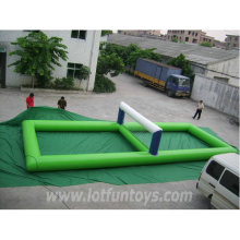Waterpark Toys - Inflatable Water Volleyball Playground Game.