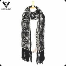 2016 Женское вязание крючком Толстый теплый зимний шарф Длинные брюки