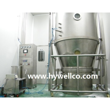 Granulator Bed Fluid Bedak Powder