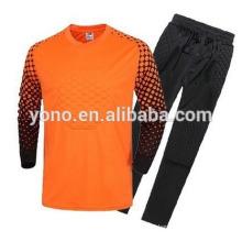 Excelente qualidade quente camisa de goleiro de futebol por atacado