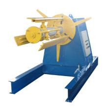 Decoiler hydraulique en acier couleur bobine