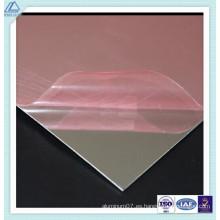 1070 aluminio / aluminio pulido / reflectante / pulido / espejo hoja con 90% de reflexión
