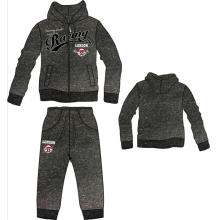 Newest Styles Man Fleece Hoody with Pant in Man Sports Wear (SQM-107)