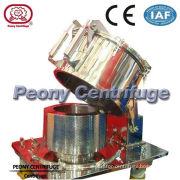 Pharmacy Flat - Plate Filtration Equipment , Food Hinger Cover Top Discharge Basket Centrifuge