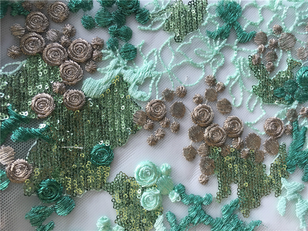 Mesh Embroidery Fabric