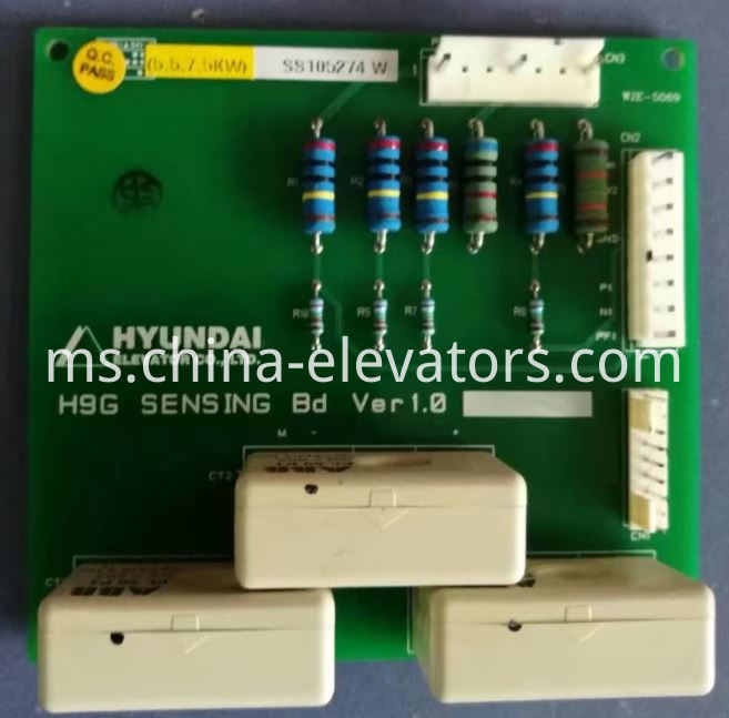 Mutual Inductor PCB H9G SENSING Bd for Hyundai Elevator Inverter