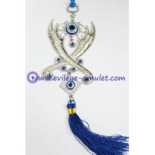Wholesale Evil Eye 2 Scimitar Wall Decoration Evil Eye Beads
