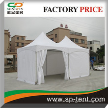 Garden pavilion 3x6m in aluminum frame with water proof fabric