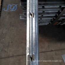 Mon-texte Steel Factory Sale Directement Vineyard Posts