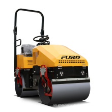 Seat type vibration double drum  mini road roller compactor machine FYL-890