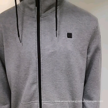 Battery heated hoodie With battery and charger