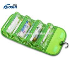 Sac en plastique imperméable de toilette pour le voyage