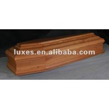 Cercueil en bois européen