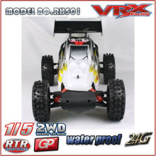 VRX corrida marca 1/5 gás Powered Buggy RTR, 2WD Nitro Buggy