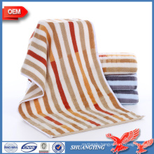 Alibaba Custom cut pile dyed towel thickening men streak face towels     If you want to customize our products, or have anyquestions about the towels, please feel free to contact us !